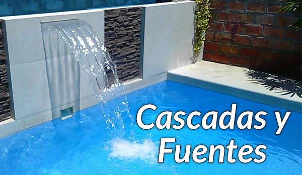 Equipos y accesorios albercas y piscinas williams for Accesorios para piscinas cascadas